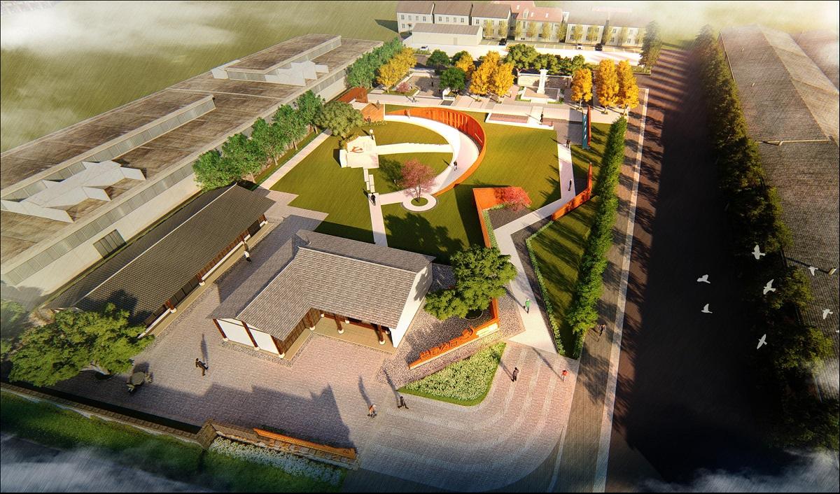 浙江 朗霞党建公园景观方案设计 宁波科信海津建筑规划设计有限公司